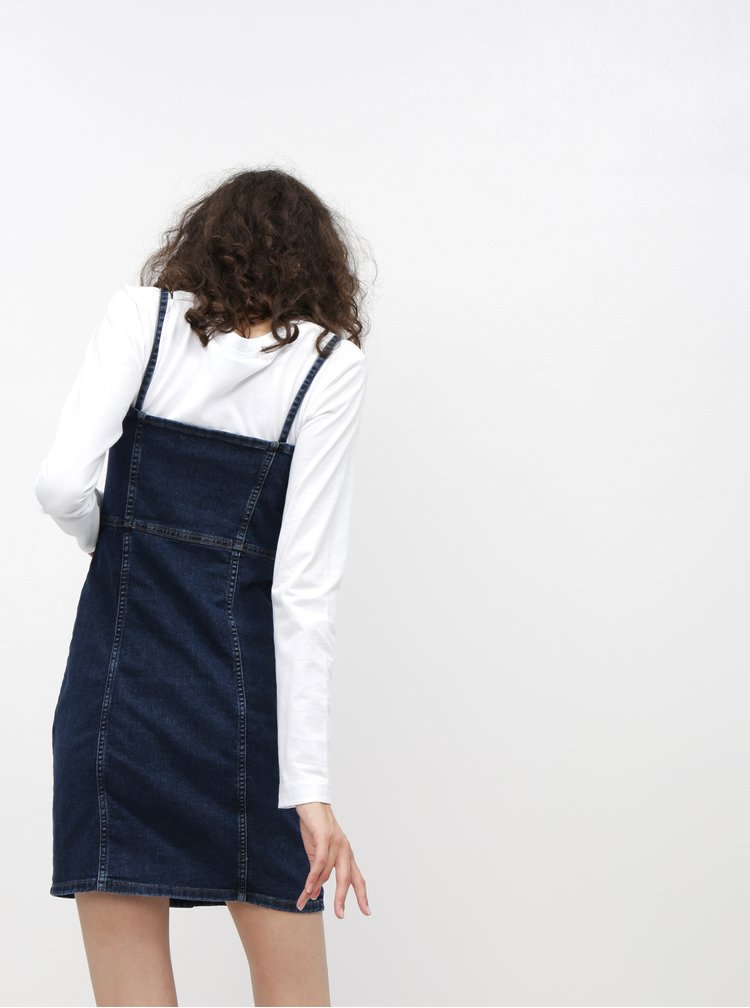 Tmavomodré rifľové šaty Jacqueline de Yong Sanna