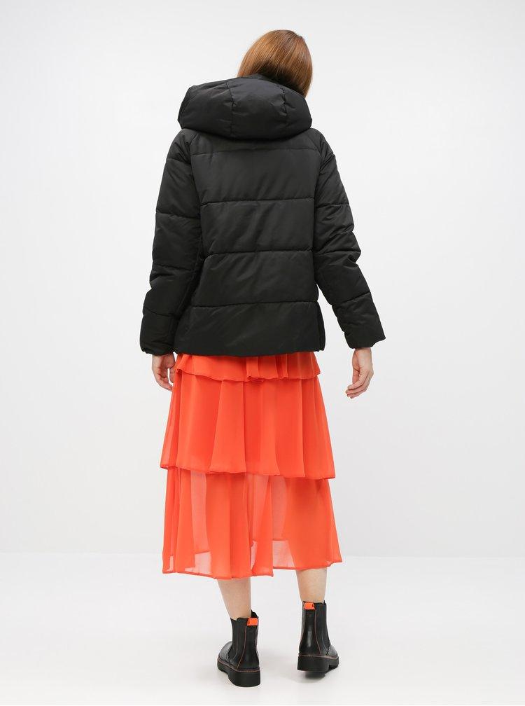 Černá zimní prošívaná bunda ONLY June