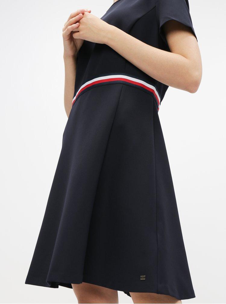 Tmavě modré šaty Tommy Hilfiger Britt