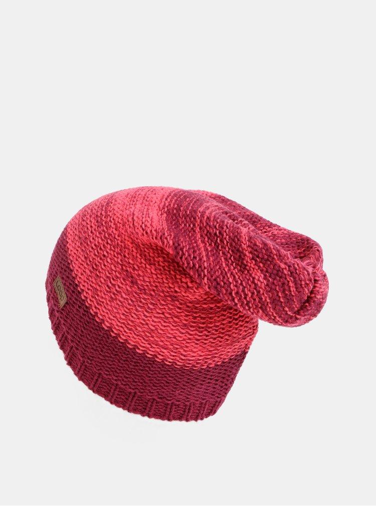 Růžová dámská čepice LOAP Zalida