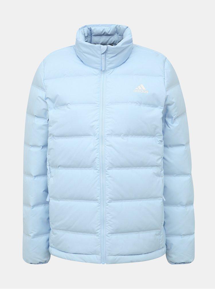 Jachete si tricouri pentru femei adidas Performance - albastru deschis