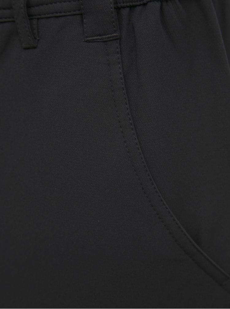 Černé pánské softshellové funkční kalhoty LOAP Ulfo