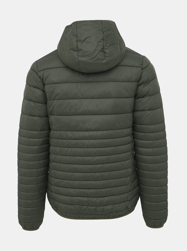 Zelená pánská prošívaná voděodpudivá zimní bunda LOAP Jefry