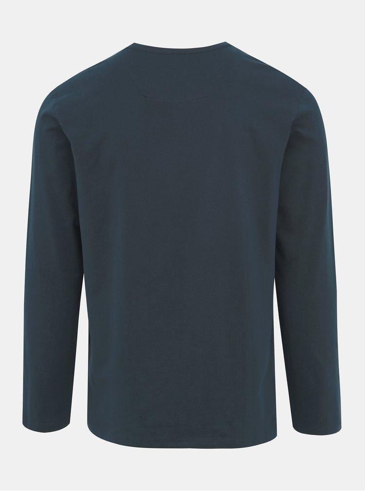 Tmavě modré pánské tričko LOAP Albin