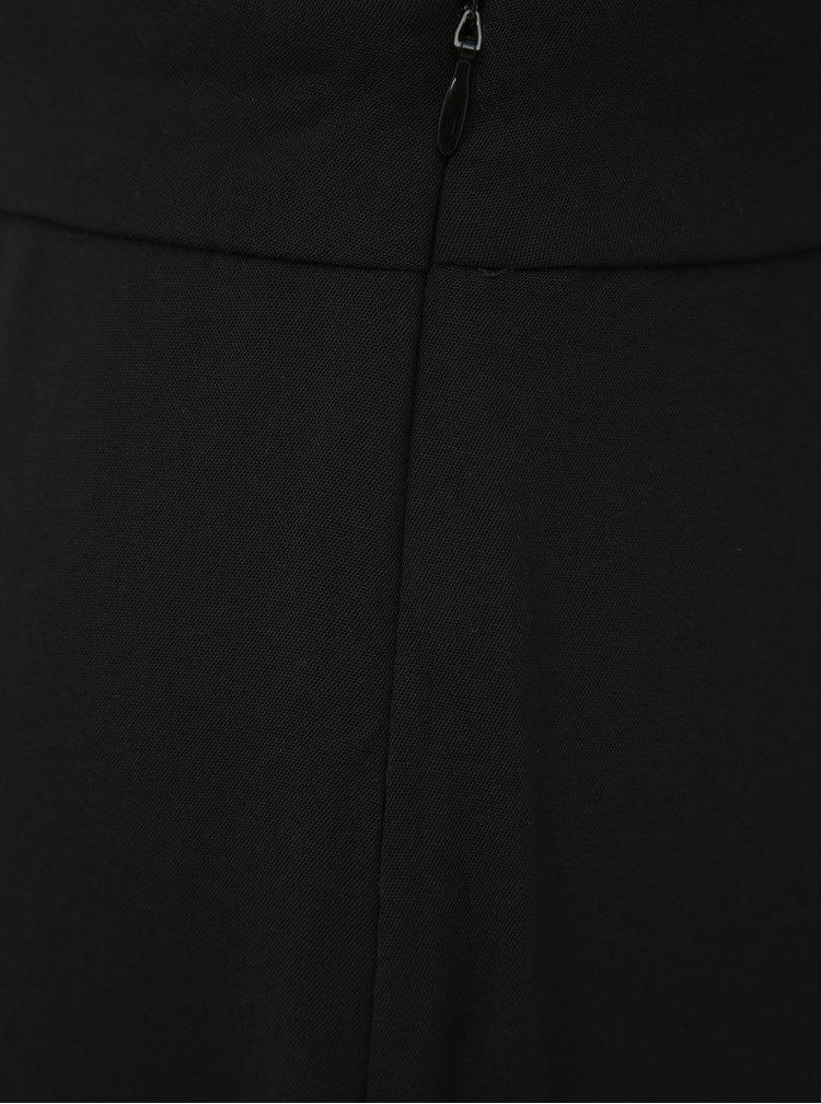 Černý overal s krajkou VILA Sanvi