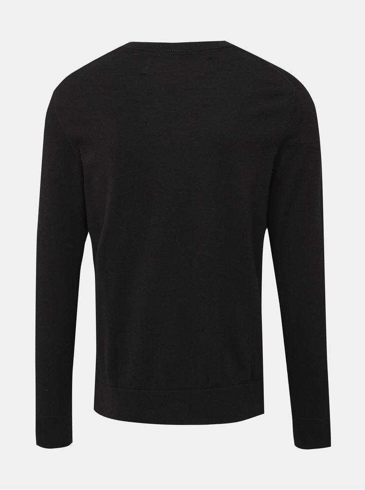 Černý pánský basic svetr Calvin Klein Jeans