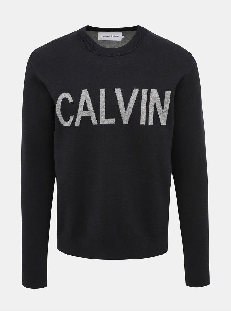 Černý pánský svetr Calvin Klein Jeans