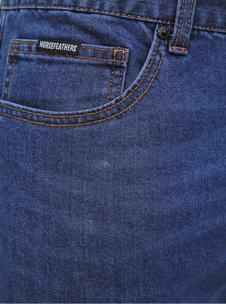 Modré pánské straight fit džíny Horsefeathers Moses