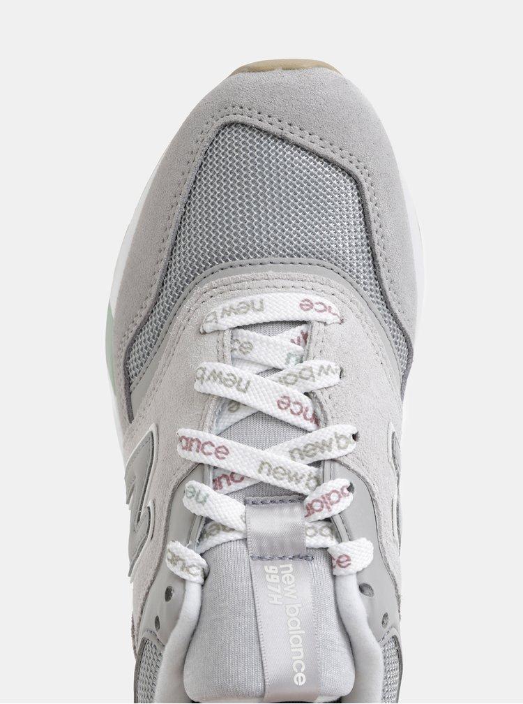 Šedé dámské semišové tenisky New Balance 997H