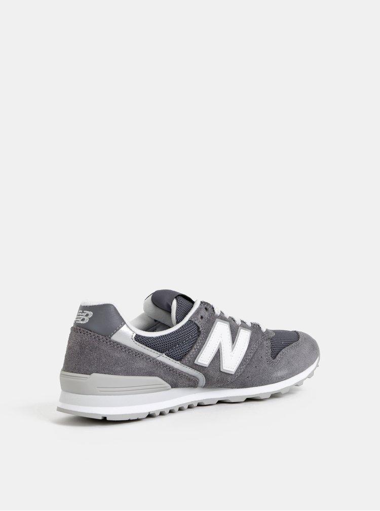 Šedé dámské semišové tenisky New Balance 996
