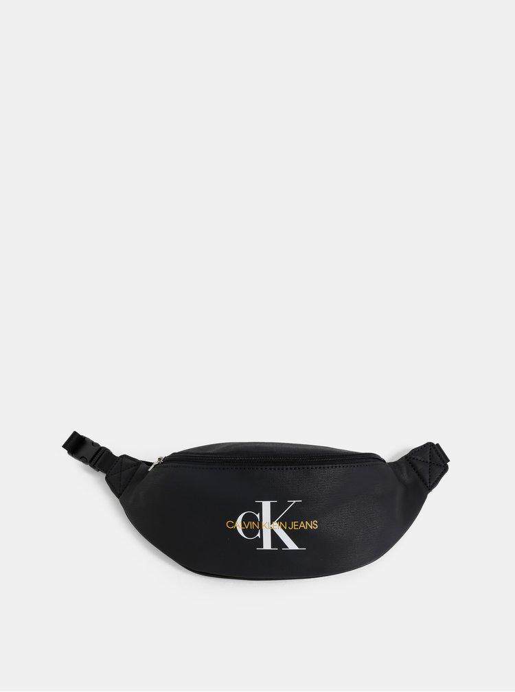 Čierna ľadvinka s potlačou Calvin Klein Jeans