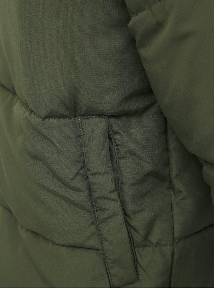 Khaki prošívaná zimní bunda ONLY & SONS Boston