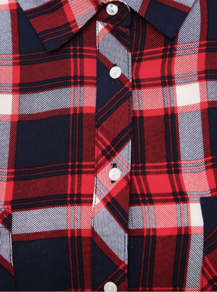 Červená dámská kostkovaná košile Haily´s Gemma