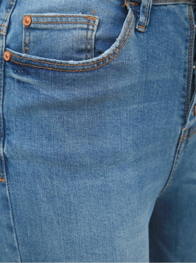 Modré skinny fit džíny Jacqueline de Yong Jona