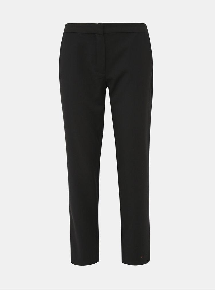 Čierne skrátené nohavice Jacqueline de Yong Jacob