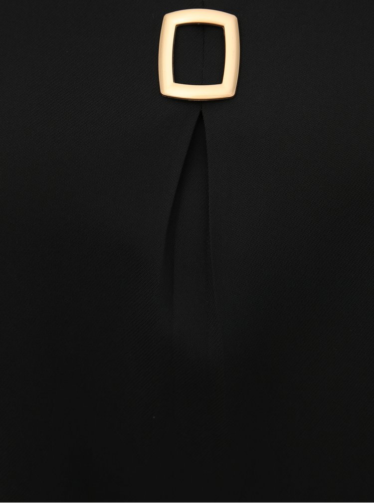 Čierna blúzka Zizzi Pulene