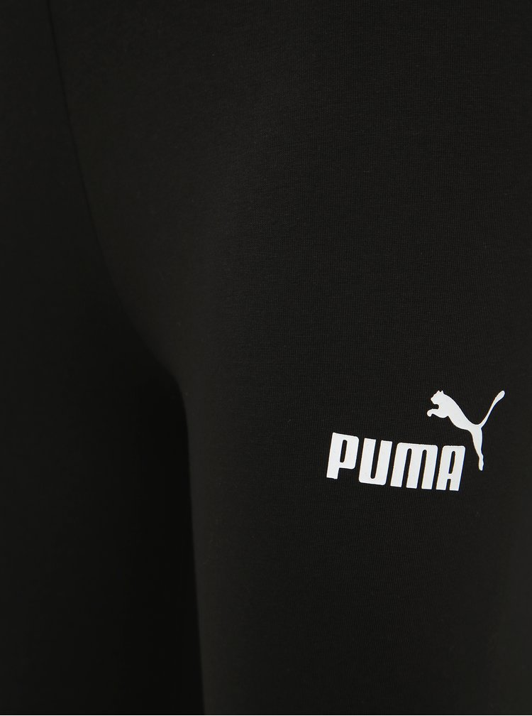 Černé dámské legíny s potiskem  Puma