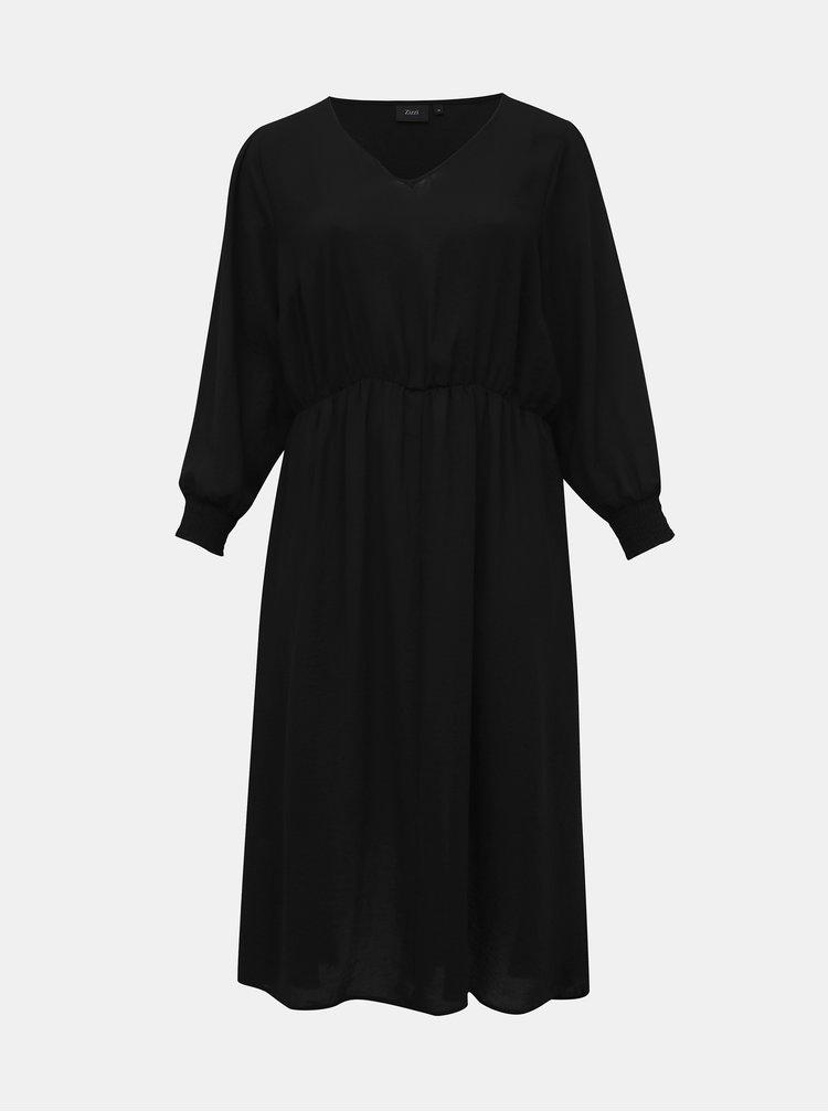 Čierne šaty Zizzi Peyton