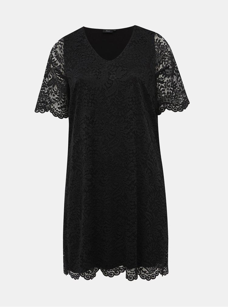 Černé krajkové šaty Zizzi Noemi