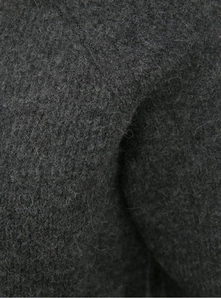 Tmavě šedý svetr VERO MODA Blakely