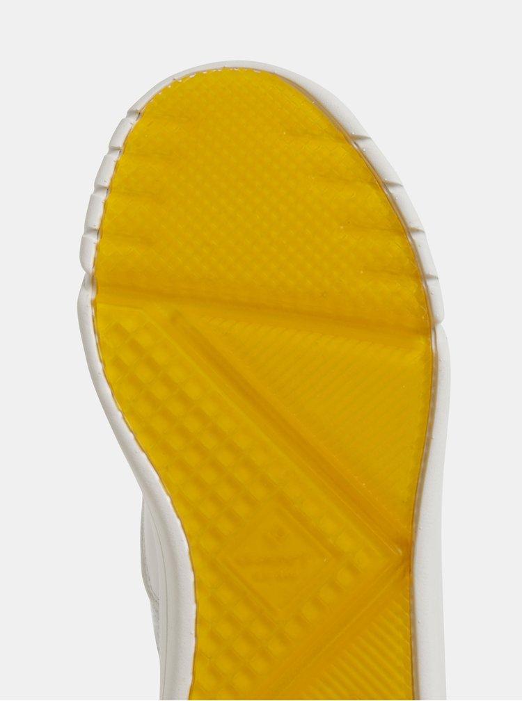 Svetlošedé dámske kožené tenisky GANT Madison
