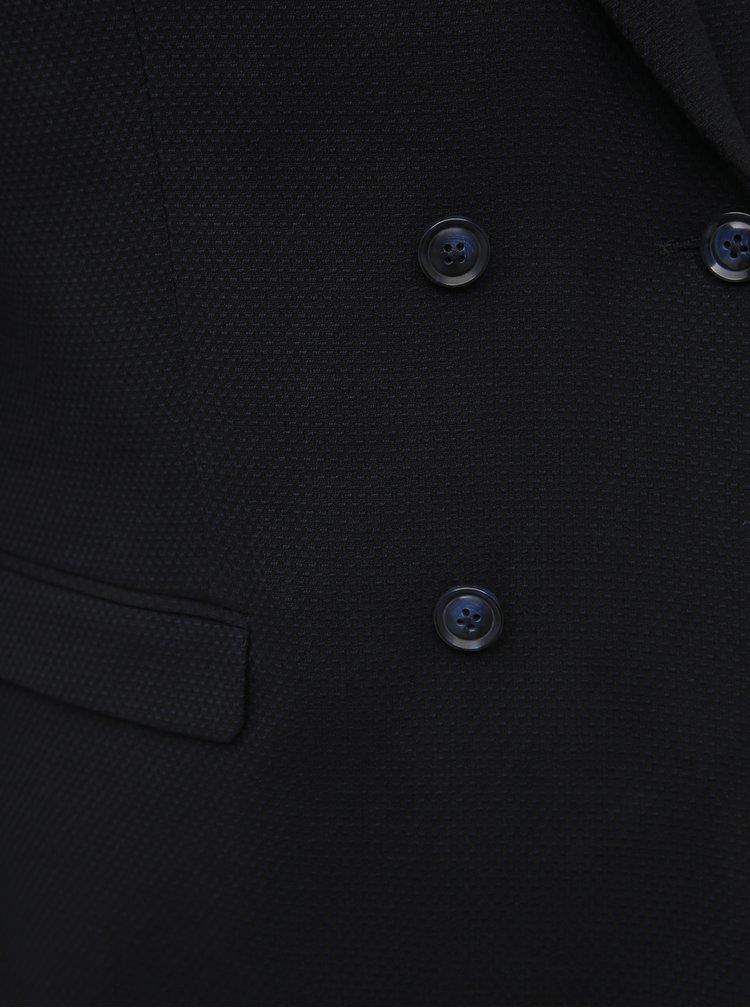 Tmavě modré sako Selected Homme Leo
