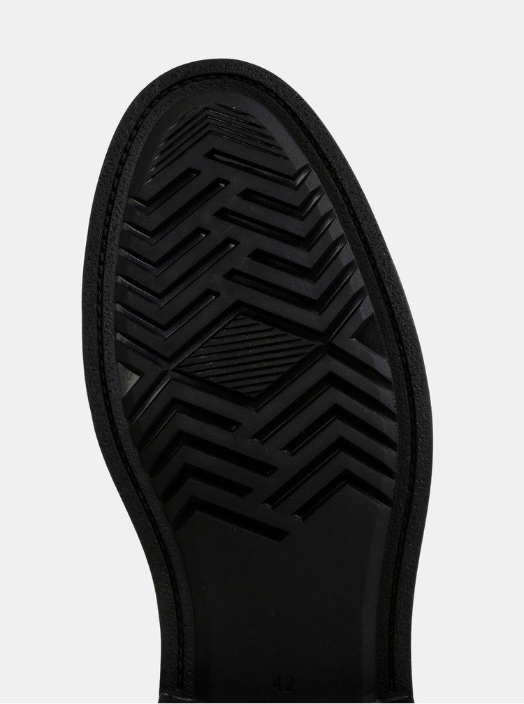 Tmavohnedé pánske semišové členkové topánky GANT Fargo