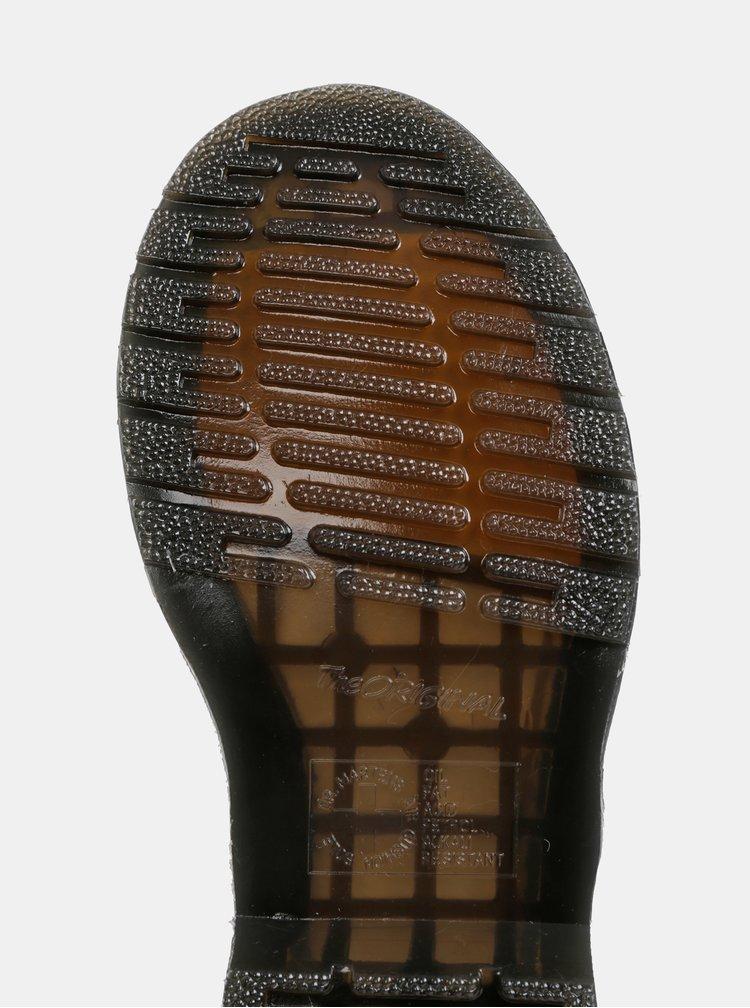 Čierne kožené členkové topánky Dr. Martens 1460 Pascal