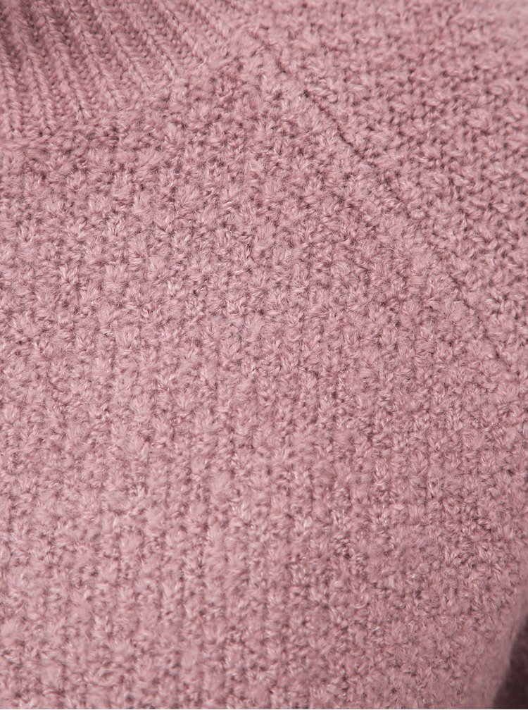Starorůžový svetr Jacqueline de Yong Crystel