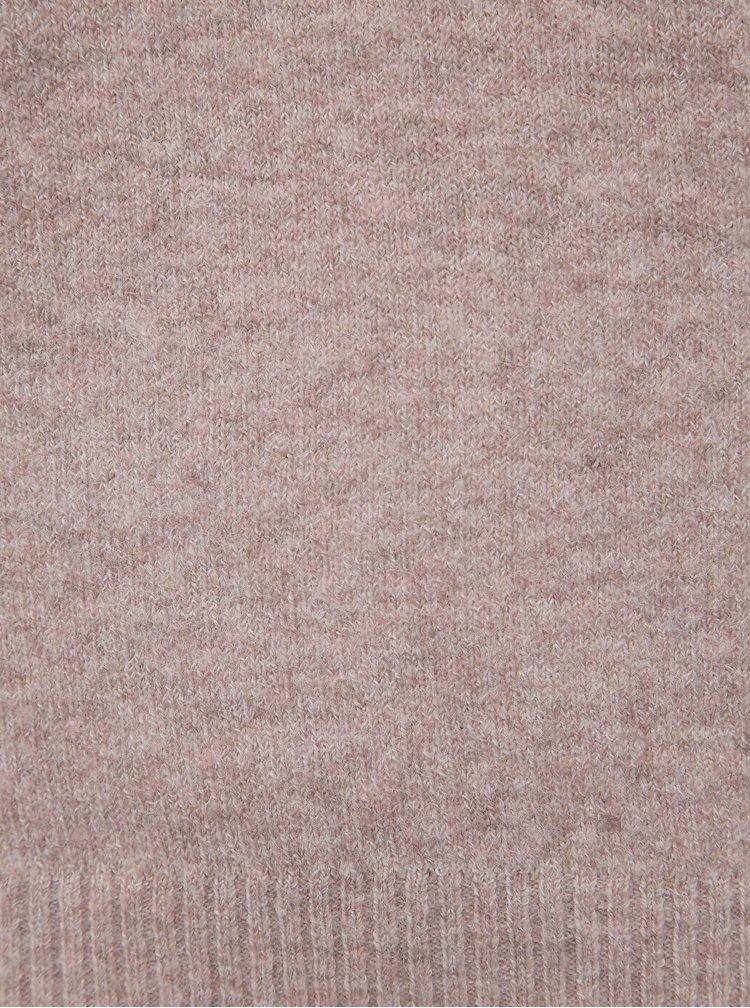 Starorůžový basic svetr VERO MODA Doffy