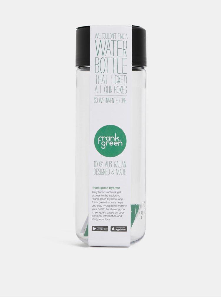 Plastová láhev s černým víčkem Frank Green 740 ml
