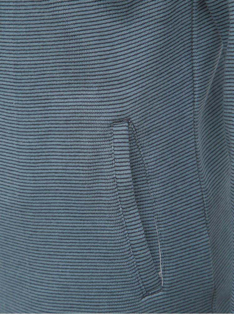 Modrá pruhovaná mikina Brakeburn