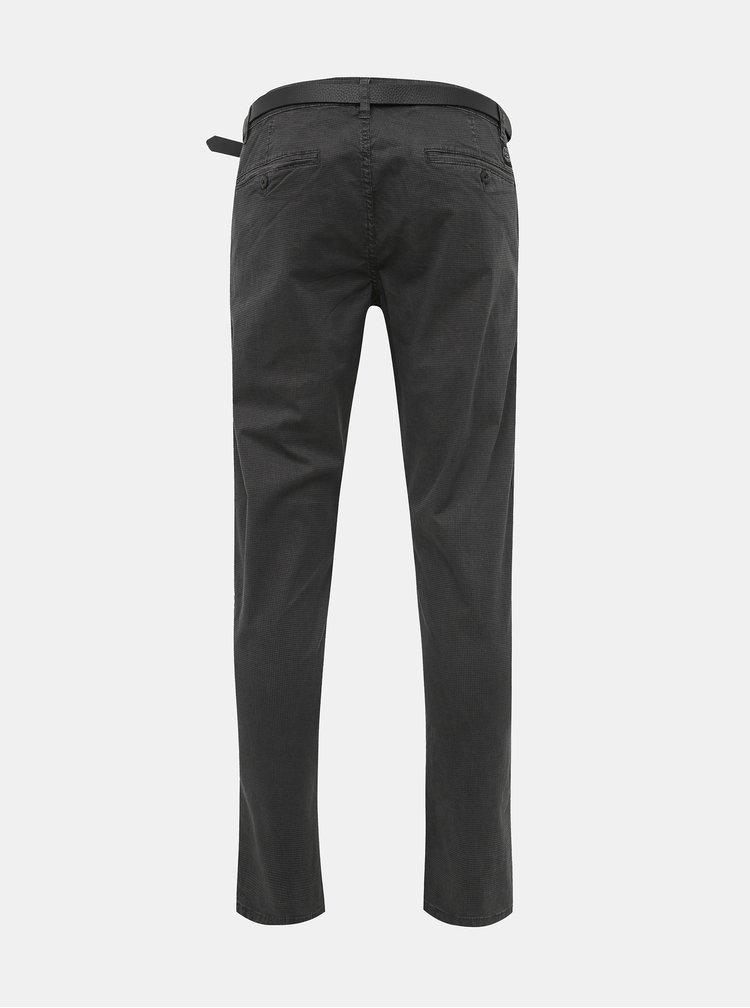 Šedé chino kalhoty Shine Original
