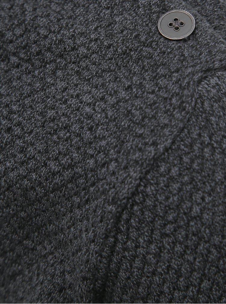 Tmavošedý sveter Shine Original