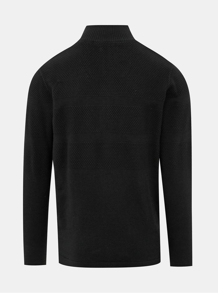 Čierny sveter Shine Original