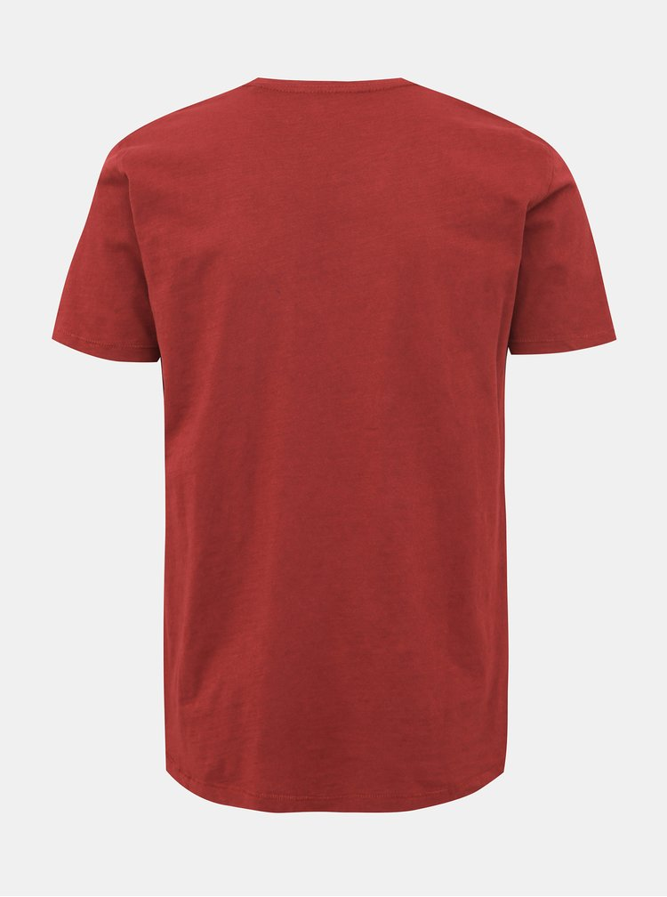 Vínové basic tričko Shine Original