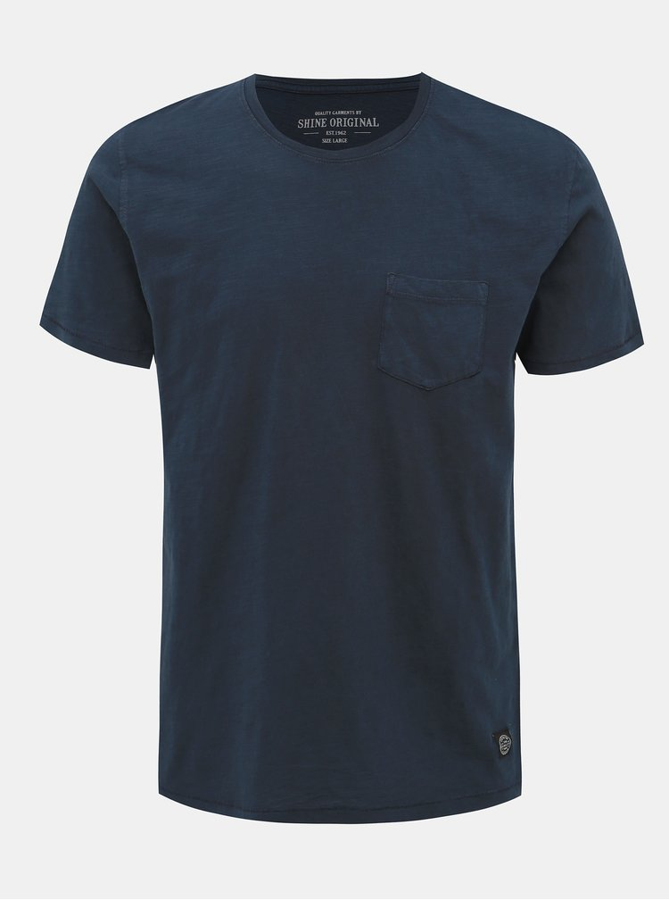 Tmavomodré tričko Shine Original