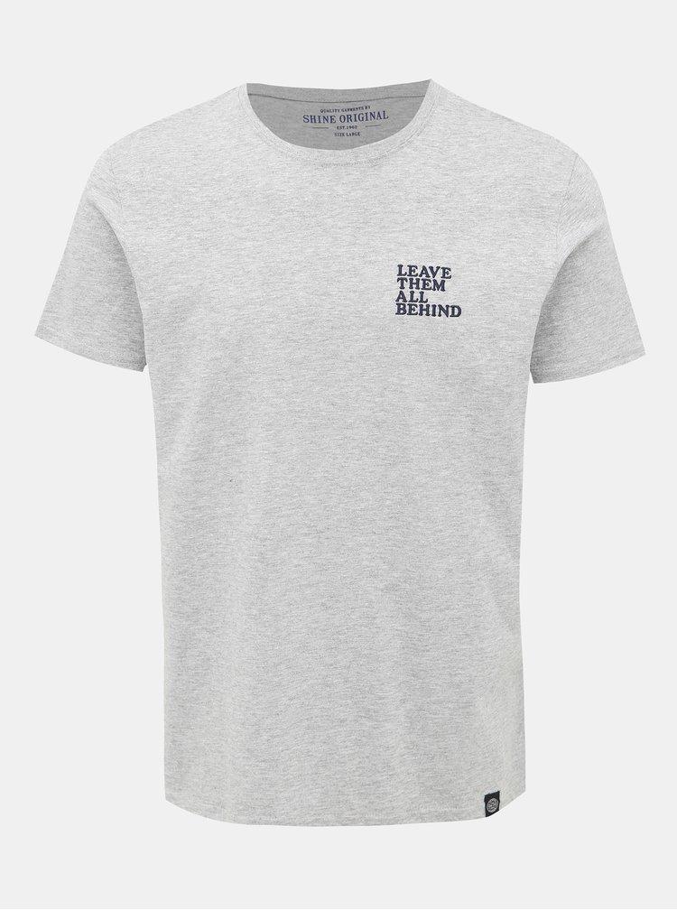 Šedé tričko Shine Original