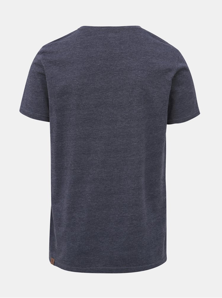 Tmavomodré pánske tričko Ragwear Hake Organic