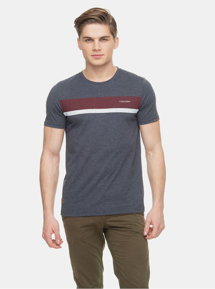 Tmavě modré pánské tričko Ragwear Hake Organic