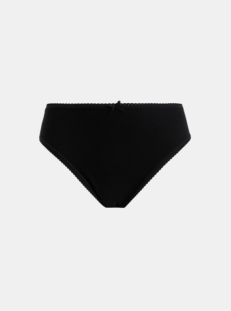 Sada pěti kalhotek v šedé, bílé a černé barvě M&Co