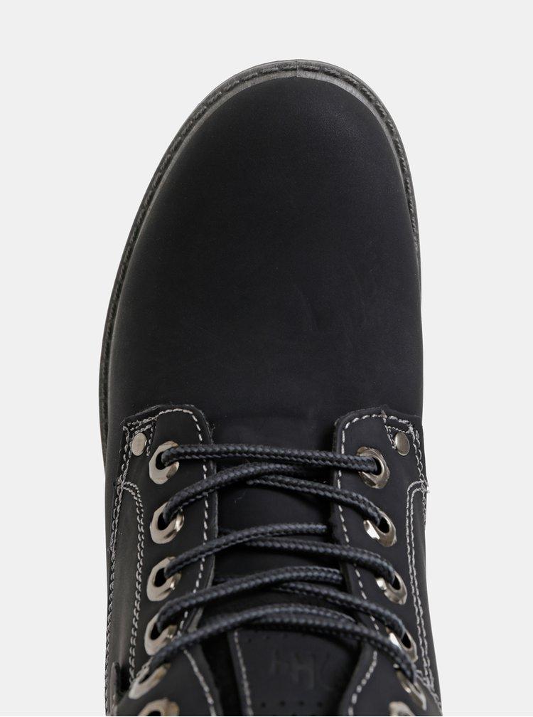 Černé dámské zimní kotníkové boty Haily´s Pia
