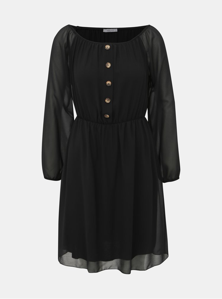 Černé šaty Haily´s Alina