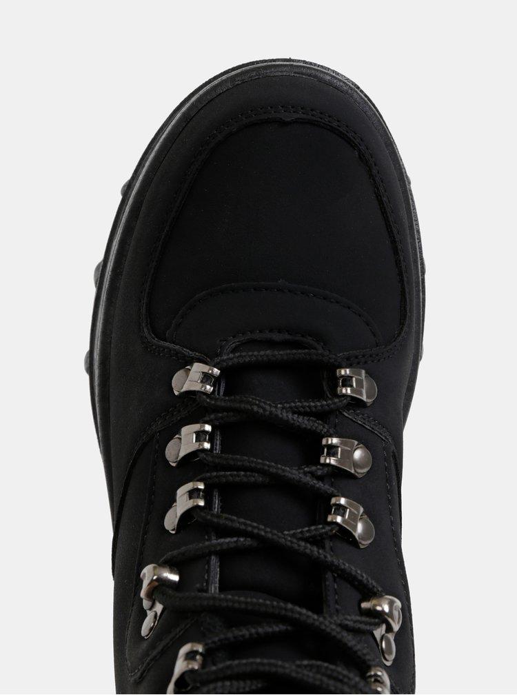 Černé dámské zimní kotníkové boty Haily´s Hazel