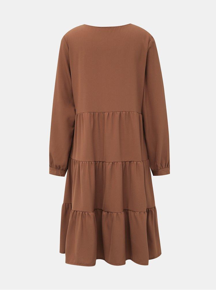 Hnědé šaty Haily´s Juliette