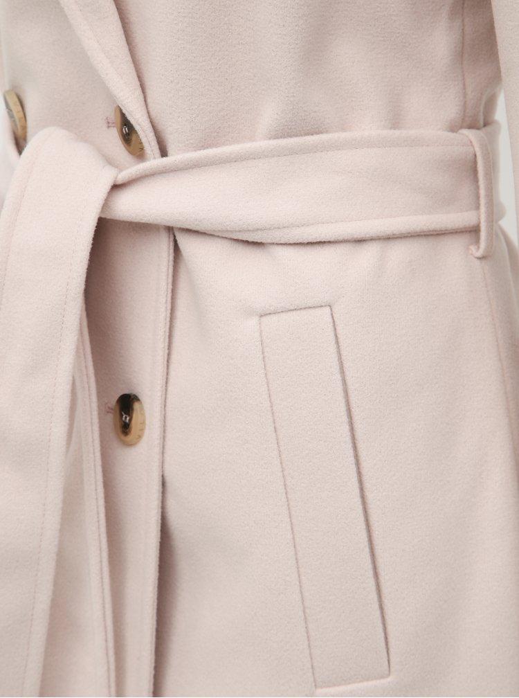 Svetloružový kabát VILA Blair