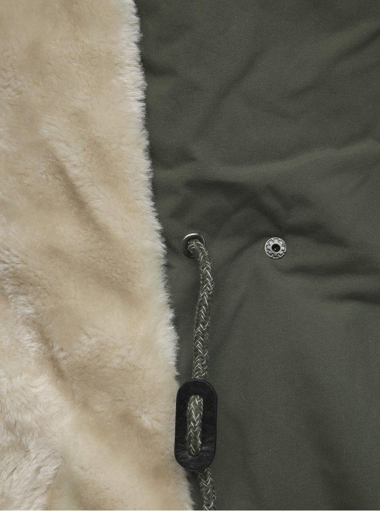 Khaki dámská zimní parka Haily´s Pennie