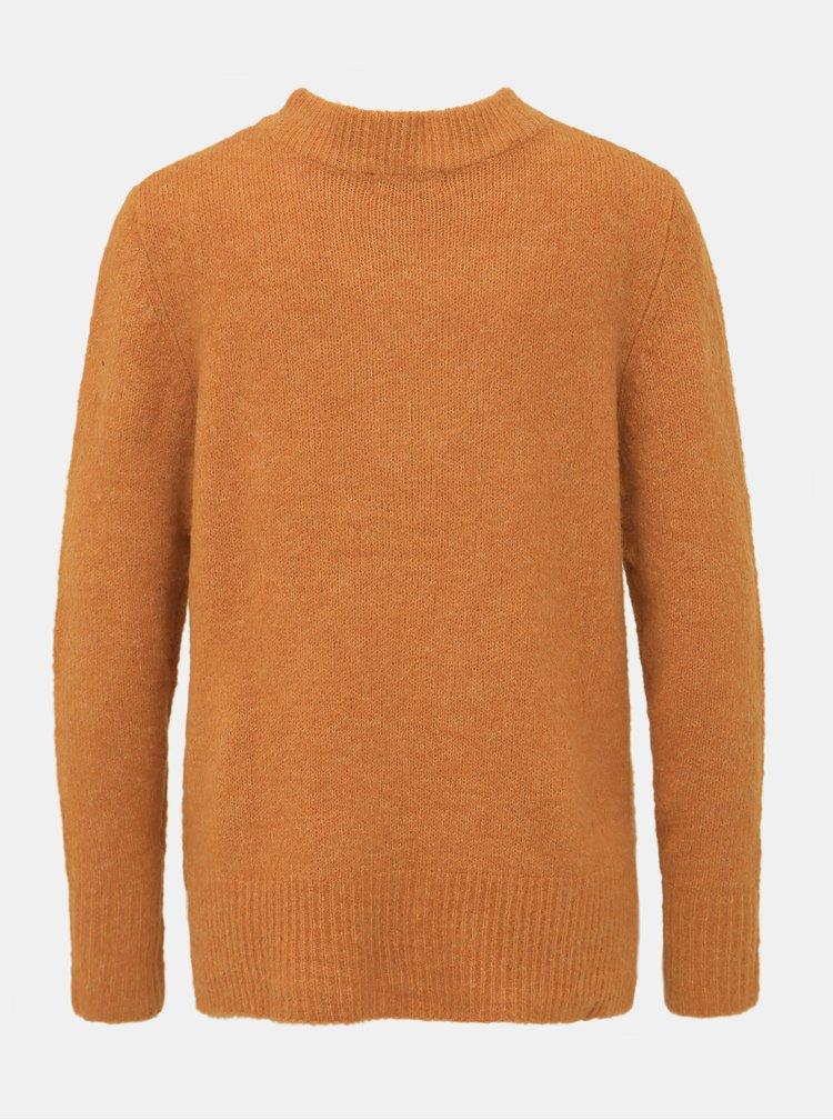Oranžový sveter Jacqueline de Yong Adina