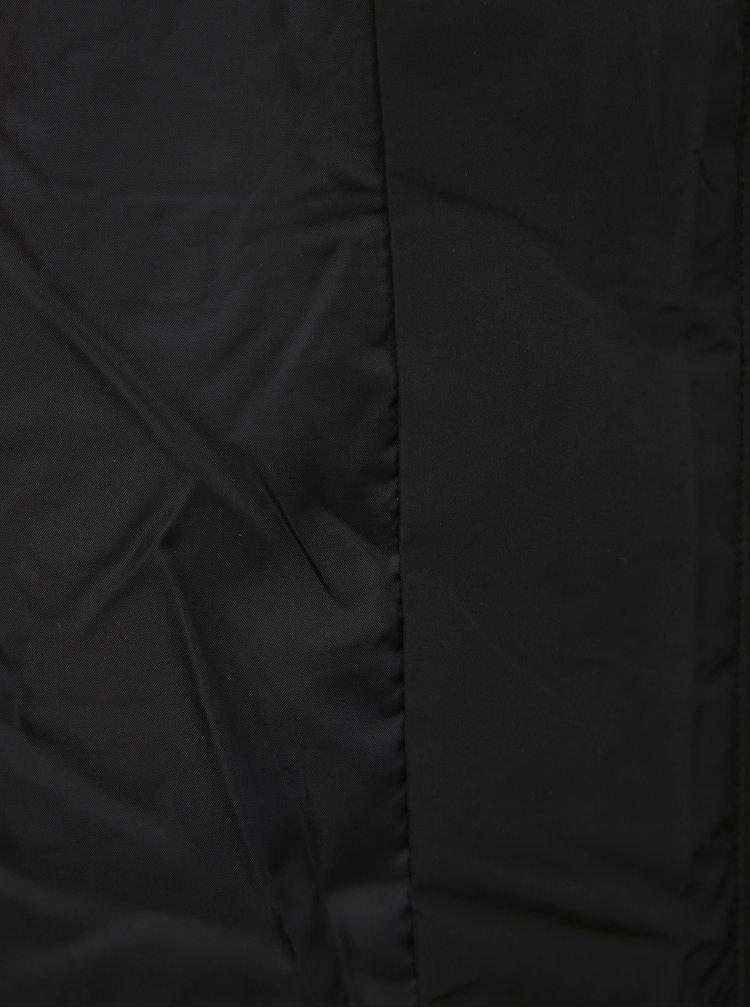 Černý zimní prošívaný kabát Jacqueline de Yong Erica