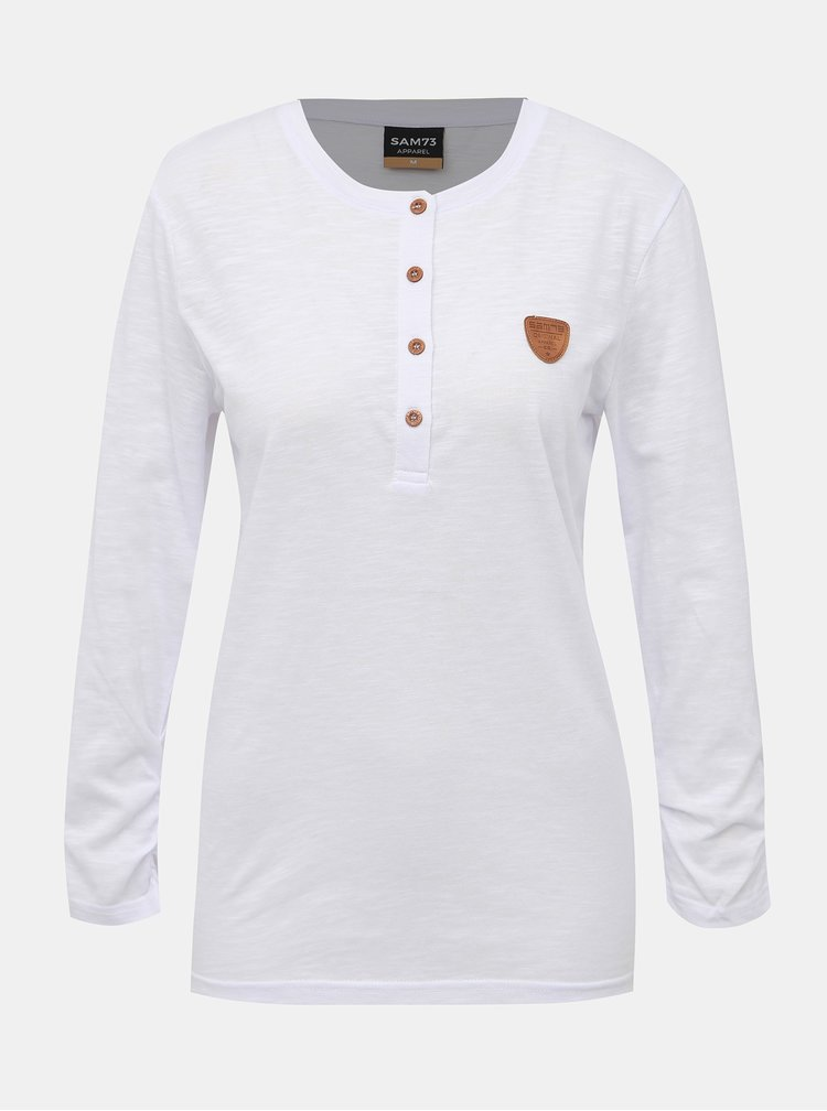 Bílé dámské tričko SAM 73